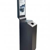立式自动消毒广告机应用在个场所的好处
