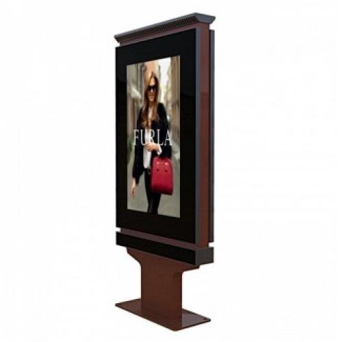 55寸户外立式高清高亮液晶触摸网络广告机
